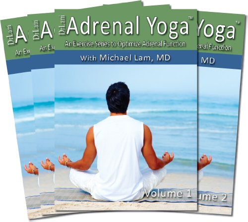 Dr Lam's Adrenal Yoga Exercise DVD Set Volume 1-4 with Free Additional...