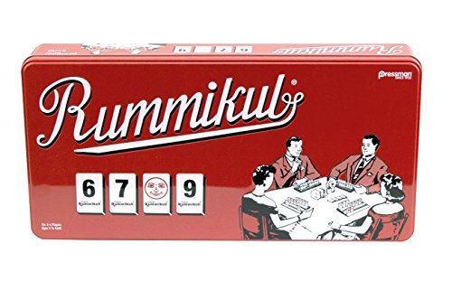 Rummikub in Retro Tin - The Original Rummy Tile Game by Pressman