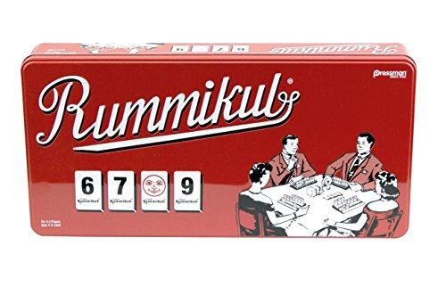 Rummikub in Retro Tin  The Original Rummy Tile Game by Pressman