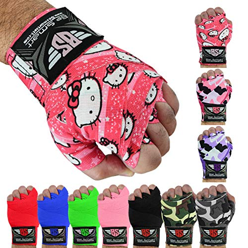 Boxing Hand Wrap Bandagen MMA Boxhandschuhe Muay Thai Innenhandschuh, Herren damen Kinder, hello kitty