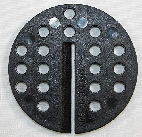 Ersatzteile für Bandsägen, Bandsägetischeinlage Einlagenscheibe zentrale Sägebandführung, schmale Ausführung, für mehrere Modelle passend, geeignet für Record Power BS 400