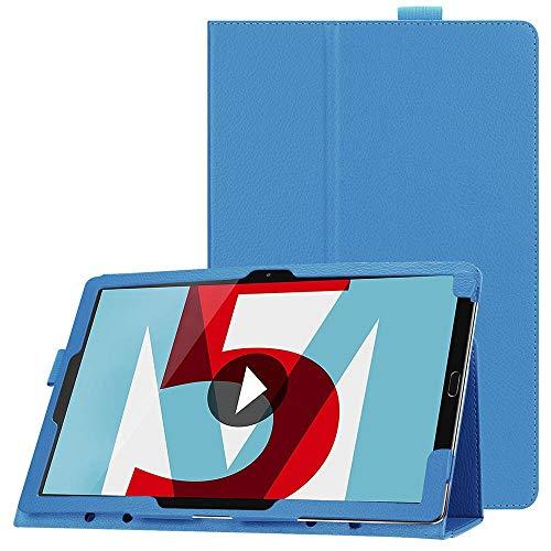 "JiuRui Custodie e Cover per Huawei MediaPad M5 PRO 10.8 Pollici, Custodia in Pelle PU Custodia Protettiva Antiurto per Huawei M5 10.8""CRM-AL09 CRM-W09 (Colore : Light Blue)"