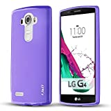 J&D Case Compatible for LG G4 Case, [Drop Protection] [Slim Cushion] Shock Resistant Protective TPU Slim Case for LG G4 Bumper Case - [Not Compatible with LG Stylo 4] - Purple