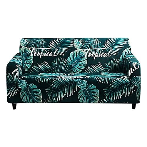 ASCV Fundas elásticas Funda de sofá elástica seccional para Sala de Estar Funda de sofá en Forma de L Funda de sillón A9 2 plazas