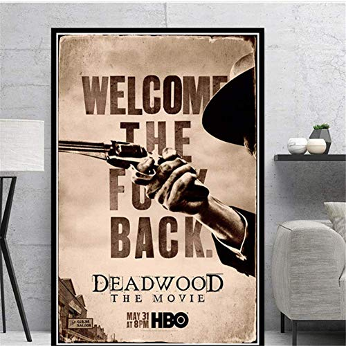 Amokr Canvas Art Walls Painting 19.7'x27.6' no frame Posters And Prints Deadwood Movie Daniel Minahan Wall Pictures For Living Room Home Decor