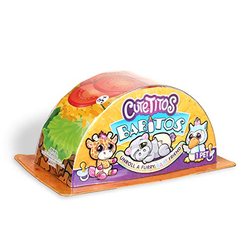 Cuetitos 39150 Mystery Stuffed Animals-Collectible Plush Cutetitos Babitos plusz, Mehrfarbig