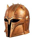 Chiefstore Mandalorian Helm The Armorer Maske für SW Seies Halloween Cosplay Kostüm Zubehör (The Armorer)