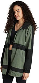 Rockwear Activewear Women's Colour Block Sherpa Lined Anorak Moss 14 from Size 4-18 Jackets + Vests for Tops