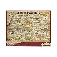 アクエリアス スミソニアン恐竜 1000ピース ジグソーパズル