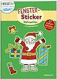 Fenster-Sticker Weihnachten: 24 Ausmalseiten