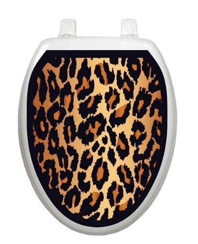 Leopard Print Toilet Tattoo TT-1000-O Elongated