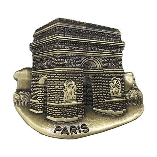 3D Arc De Triomphe Paris France Réfrigérateur Réfrigérateur Aimant Souvenirs De Tourisme Métal Artisanat Magnétique Autocollants Maison Cuisine Décoration Voyage Cadeau