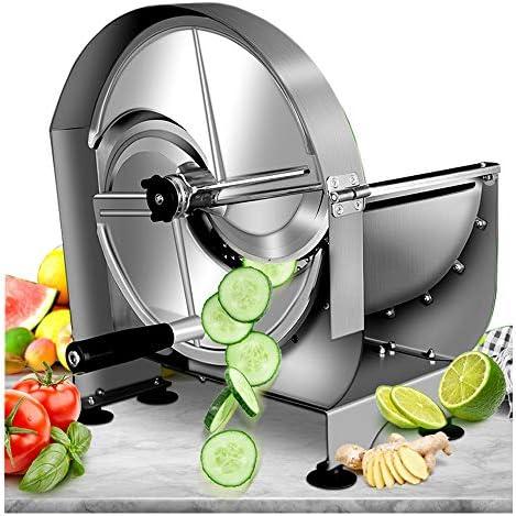 NEWTRY Commercial Vegetable Slicer Shredder Fruit Slicer 0 12mm 15 32inch Thickness Adjustable product image