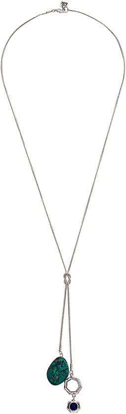 Charm Lariat Necklace 26""