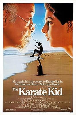 "PremiumPrints - Karate Kid Original Movie Poster Glossy Finish Made in USA - MOV773 (24"" x 36"" (61cm x 91.5cm))"
