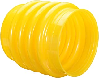 1Pcs Polyurethane Jumping Jack Bellows Boot 17.5cm Yellow For Wacker Rammer Compactor Tamper Hand Power Tools Accessories