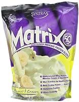 マトリックス 5.0 (持続放出タンパク質) (バナナとクリーム2.3kg) [並行輸入品]