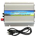 iMeshbean Grid Tie Inverter MPPT Power Inverter for Solar Pannel System Pure Sine Wave Stackable (300W DC 10.5V-30V-AC 110V)