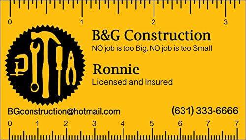 Ranking TOP18 500 Ruler Virginia Beach Mall Business Cards