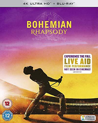 Bohemian Rhapsody UHD [Blu-ray] [UK Import]
