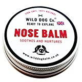 Dog Nose Balm, quick action 100% Natural snout butter for sore, crusty, dry dog noses and lips, made in the UK. 60mls tin