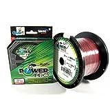 PowerPro Braided Fishing Line 80lb 150yd Power Pro 21100800150V Spectra-Hilo de Pesca Trenzado, 80 LB, Unisex, Rojo bermellón, 150YD/80LB