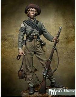 1/24 75Mm Stojący Żołnierz W Starożytnej Zimie 75Mm Figurka Z Żywicy Zestawy Miniaturowych Modeli Unassambled Niepomalowane