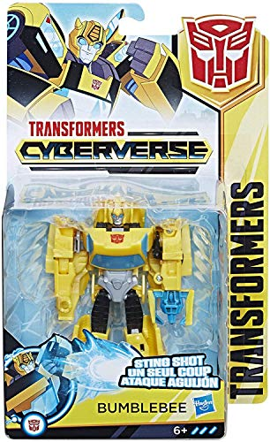 Hasbro Transformers E1900ES0 - Cyberverse Action Attackers Warrior Figur Bumblebee Roboter-Actionfigur