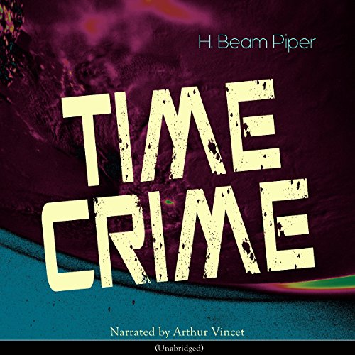 Time Crime audiobook cover art