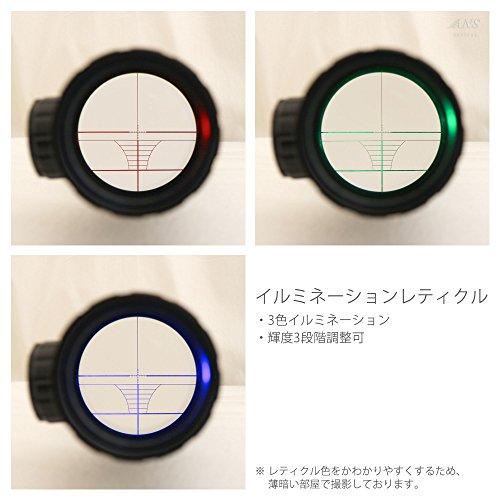 ANSOpticalライフルスコープC3-9X40EGBAサイドダイヤルマウント一体式KFsc-002A-E10
