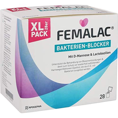 FEMALAC Bakterien-Blocker Granulat, 28 St. Beutel inclusive einer Handcreme von vitenda