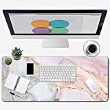 ZYCCW Large Gaming XXL Mouse Pad, Oversized Extended Mat Desk Pad Keyboard Pad (31.5