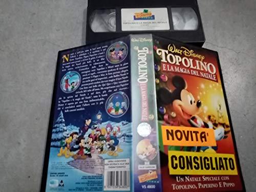 Topolino e la magia del Natale - VHS Disney