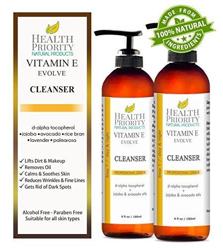 100% Natural Vitamin E Facial Cleanser
