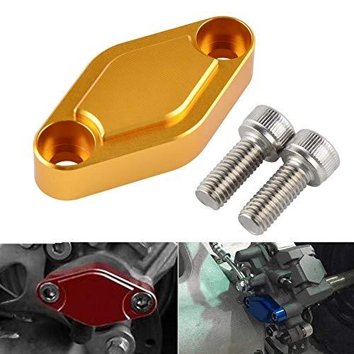 For accesorios de coches LTZ accesorios de la motocicleta KFX 400 450 for accesorios del coche TRX 300EX 400EX 450R de accesorios de motos Raptor 125 250 ATV freno de estacionamiento cuadra de la Plat