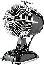 CasaFan Ventilateur de Table Retro Jet SW, 3niveaux 1350u/min, noir, 301502