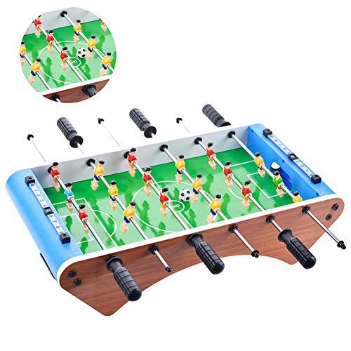 SXJC Tischfussball Für Zuhause Mini Kicker Tischfußball Tischkicker Kleiner Für Spielzimmer, Bars, Partys, Für Erwachsene Und Kinder