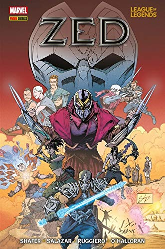 League Of Legends: Zed (capa Original)