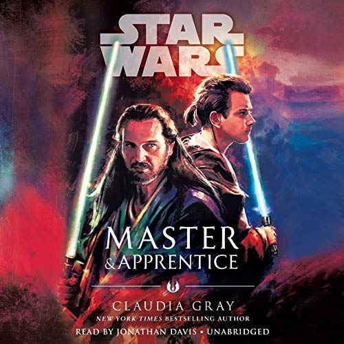 Master & Apprentice (Star Wars) audiobook cover art