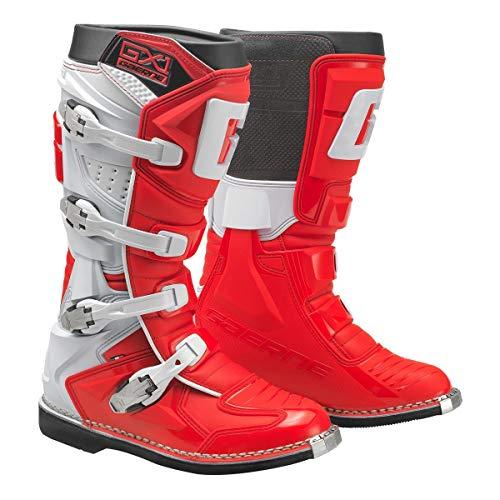 Gaerne Goodyear GX-1 - Botas de motocross (talla 43), color rojo