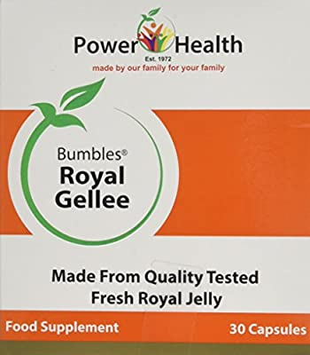 Power Health 500mg Bumbles Royal Gellee - Pack of 30 Capsules from Power Health Products Ltd