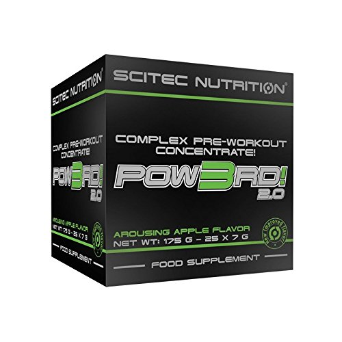 SCITEC Nutrition Pow3rd 2.0 - 25x7gr Manzana