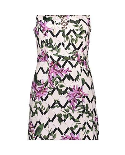 Guess W64K63W7VT0 Vestido, Multicolor (Wisteria Mood Combo), M para Mujer