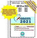 ENEM 1080 questões Provas Anteriores de 2015 a 2020 + Resolução Comentada