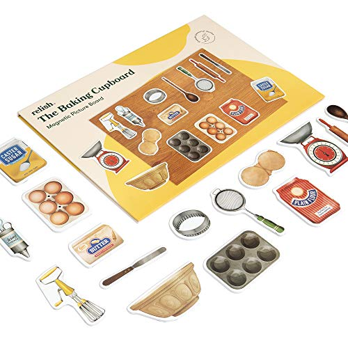 Relish 'Baking Cupboard' Magnetic Puzzle Activity for Alzheimer's & Dementia