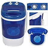 Oteymart Mini Washing Machine Portable Laundry Washer 8.8lbs Compact Counter Single Tub w/Spin Cycle Dryer...