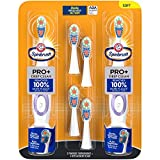 Arm & Hammer Spinbrush Pro+ Deep Clean Battery Powered Toothbrush, Club Tray, 2 Brushes, 4 Refills