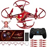 DJI Tello Quadcopter Iron Man Edition Beginner Drone VR HD Video Essential Bundle with Remote Controller