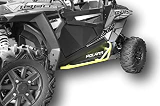 Polaris RZR 900 Trail, 900S, 1000S, XP1000, Turbo, Nerf Bars Rock Sliders - Lime Squeeze Yellow Color …