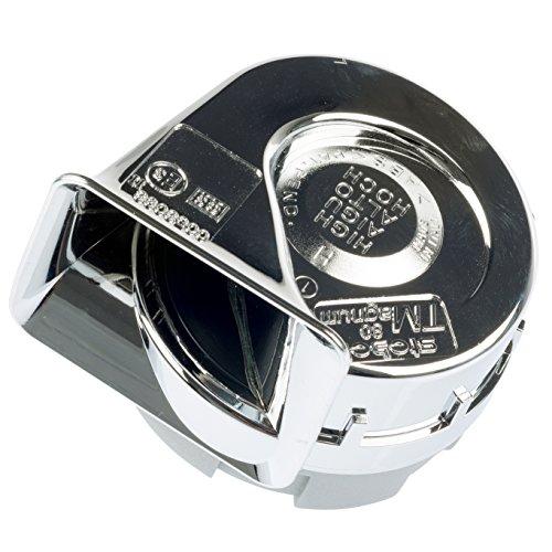 Preisvergleich Produktbild Stebel TM80 / 1 Magnum Hupe für Auto,  500 Hz,  12 V,  Chrom